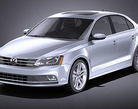 3D model Volkswagen Jetta 2015 VRAY