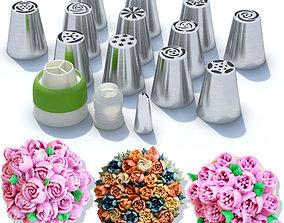 3D model Confectionery nozzles