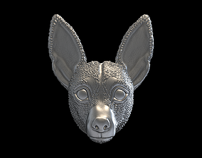 Jack Russell Terrier dog pendant 3D print model