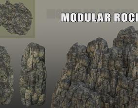 3D model Modular original Rocks