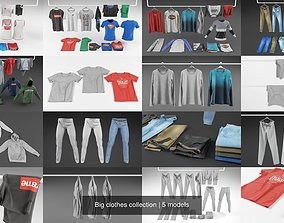 3D Big clothes collection