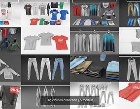 3D Big clothes collection