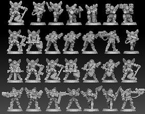 Astroknight Megapack 3D print model
