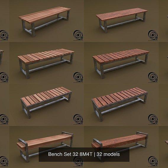 Bench Set 32 8M4T R