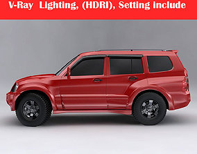Mitsubishi Pajero Montero Wagon 3D model
