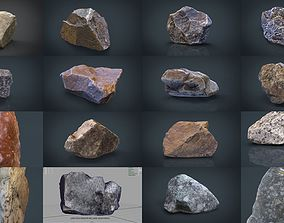 STONE AND ROCK COLLECTION PACK 3D