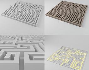 Maze 1 - 1851 blocks 3D