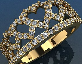 Ring 123 3D print model