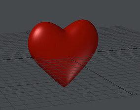 Heart 3D Model animated