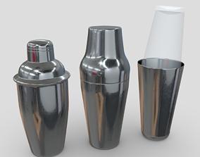 3D model Cocktail Shaker Pack