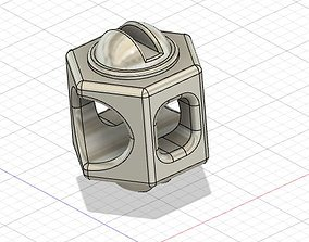 bracelet nut bolt 3D printable model