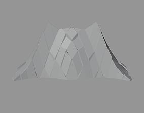 Peak Structure Wall 3D model