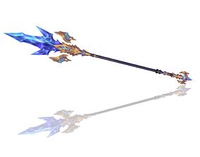 3D asset Legendary Spear