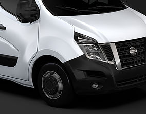 Nissan NV 400 L1H1 Van 2017 3D model