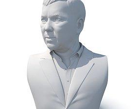 Male bust 01 - CGI model