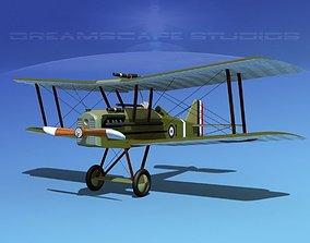 3D RAF SE5A Fighter V05