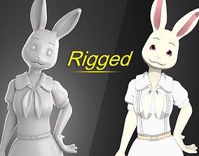 Haru Beastars Anime 3D model