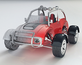 BUGGY JEEP 3D model