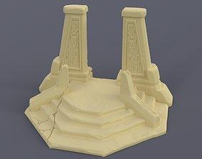 3D printable model Necron throne room Warhammer 40000