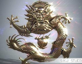 Asian Dragon 3D printable model