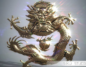 Asian Dragon 3D printable model