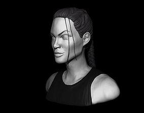 3D printable model Angelina Jolie