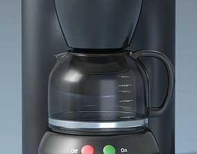 3D 4 Cup Coffee Maker