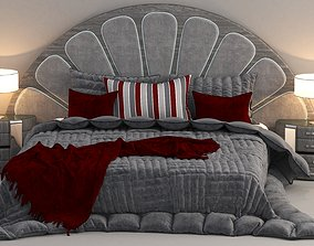 Modern Bed for bedroom 3D model