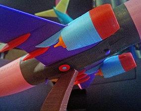 Boeing 737-800 Sharklet Landing gear up 3D printable model