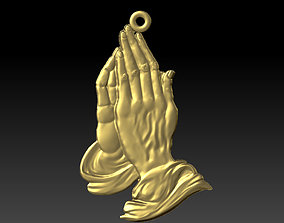 praying hands prayer 3D print model