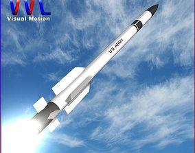 3D asset US ERINT PAC-2 Missile