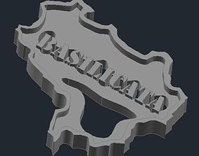 3D print model Regione Basilicata 1