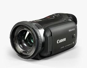 3D asset Canon Vixia HF G20 camcorder