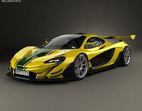 3D McLaren P1 GTR 2014