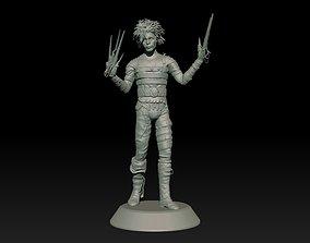 3D printable model Edward Scissorhands