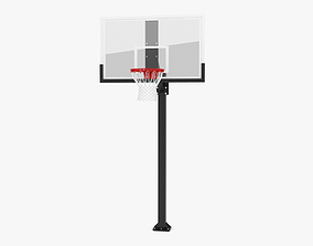 Hercules Fixed Basketball Hoop 3D