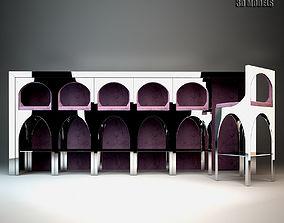 3D model Visionnaire Coliseum Bar