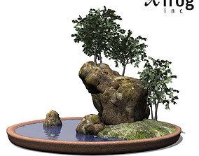 XfrogPlants Smooth leaved Elm - Bonsai 3D model