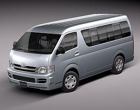 3D model Toyota Hiace