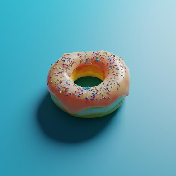 Photorealisitc Donut