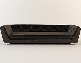 couch 3D Gekka velvet sofa by inDahouze