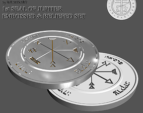 3D print model 1st Seal of Jupiter