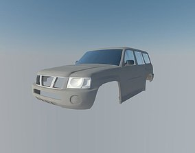 Nissan Patrol 3D printable model