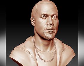 Kanye West 3D printable sculpture