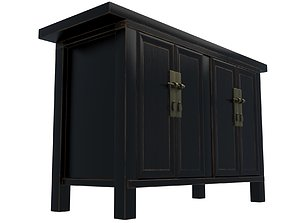 bedroom 3D model Commode 1