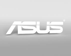 ASUS Logo 002 3D model