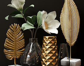 vase 3D Decorative set