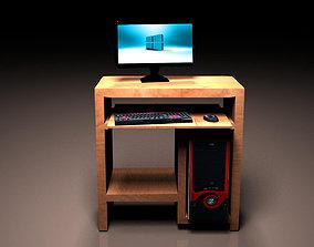 Desktop pc 3D print model