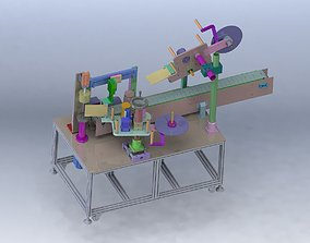 Labeling machine 3D model