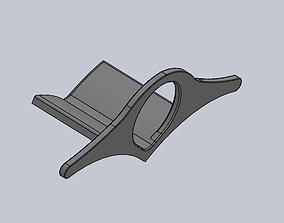 3D print model Overlay on the thumb for books reading